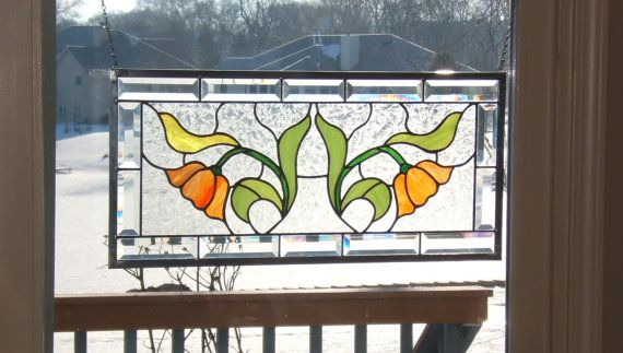 Hey, I found this really awesome Etsy listing at https://www.etsy.com/listing/182044737/beveled-english-tulip-stained-glass