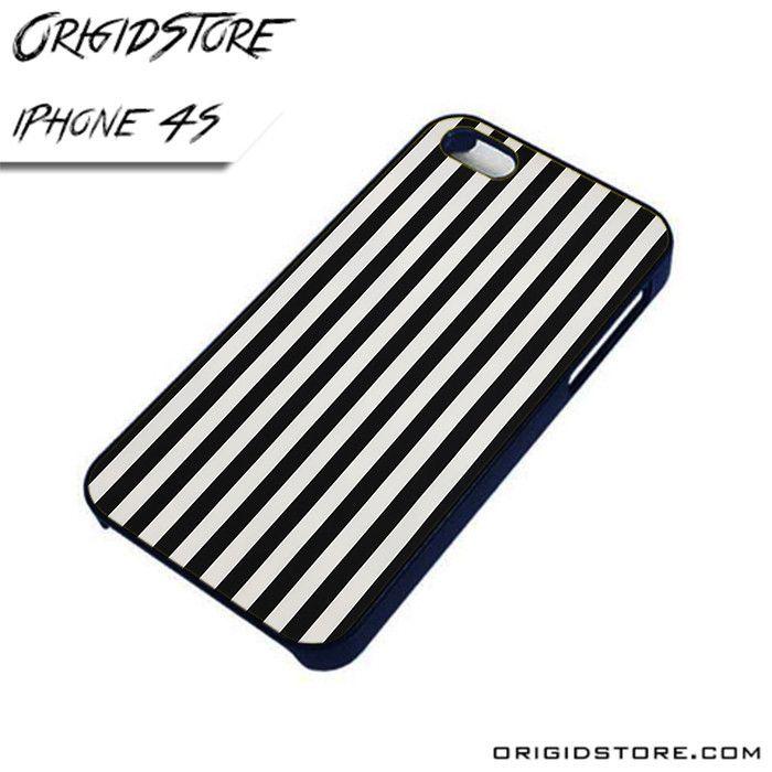 Black and White Line Black and White AL iPhone 4/4S case