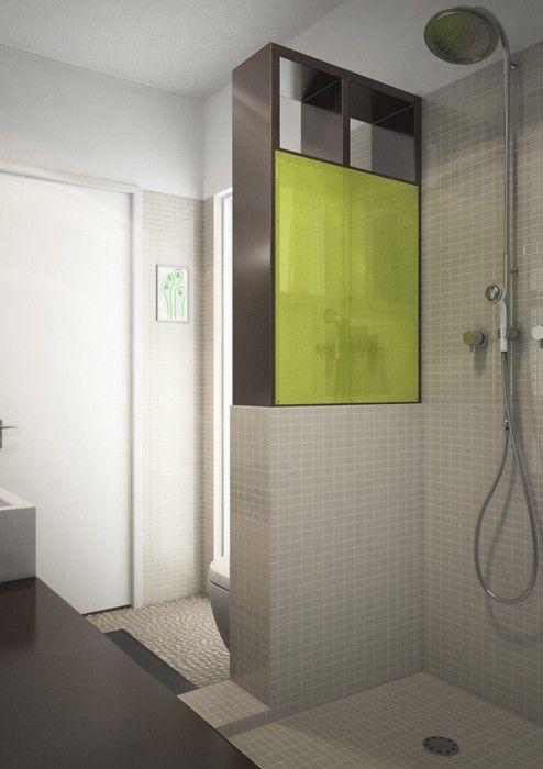 1000 ideas about salle de bain 4m2 on pinterest bath robinet and salle for Salle de bain carree 4m2