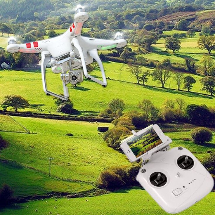 DJI Phantom Vision 2  For more information about phantom drones and other types of drones, check our site