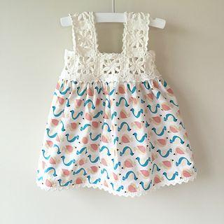 """Ich habe die ersten 3 Runden des Des Maunz-Quadrats """"Summer Trellis Bloom"""" benutzt. Finger…   – Crochet yokes and trims"""