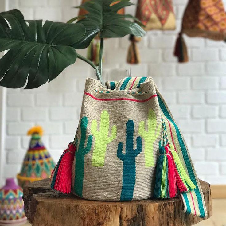 Wayuu Mochila bag Cactus Bag | Chila Bags