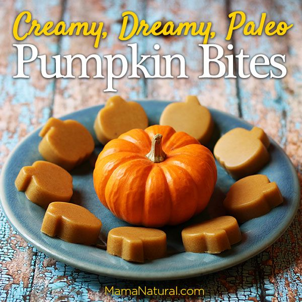 These paleo pumpkin dessert bites are a perfect 'real food' alternative to store bought treats. Halloween doesn't have to mean GMO corn syrup candy!