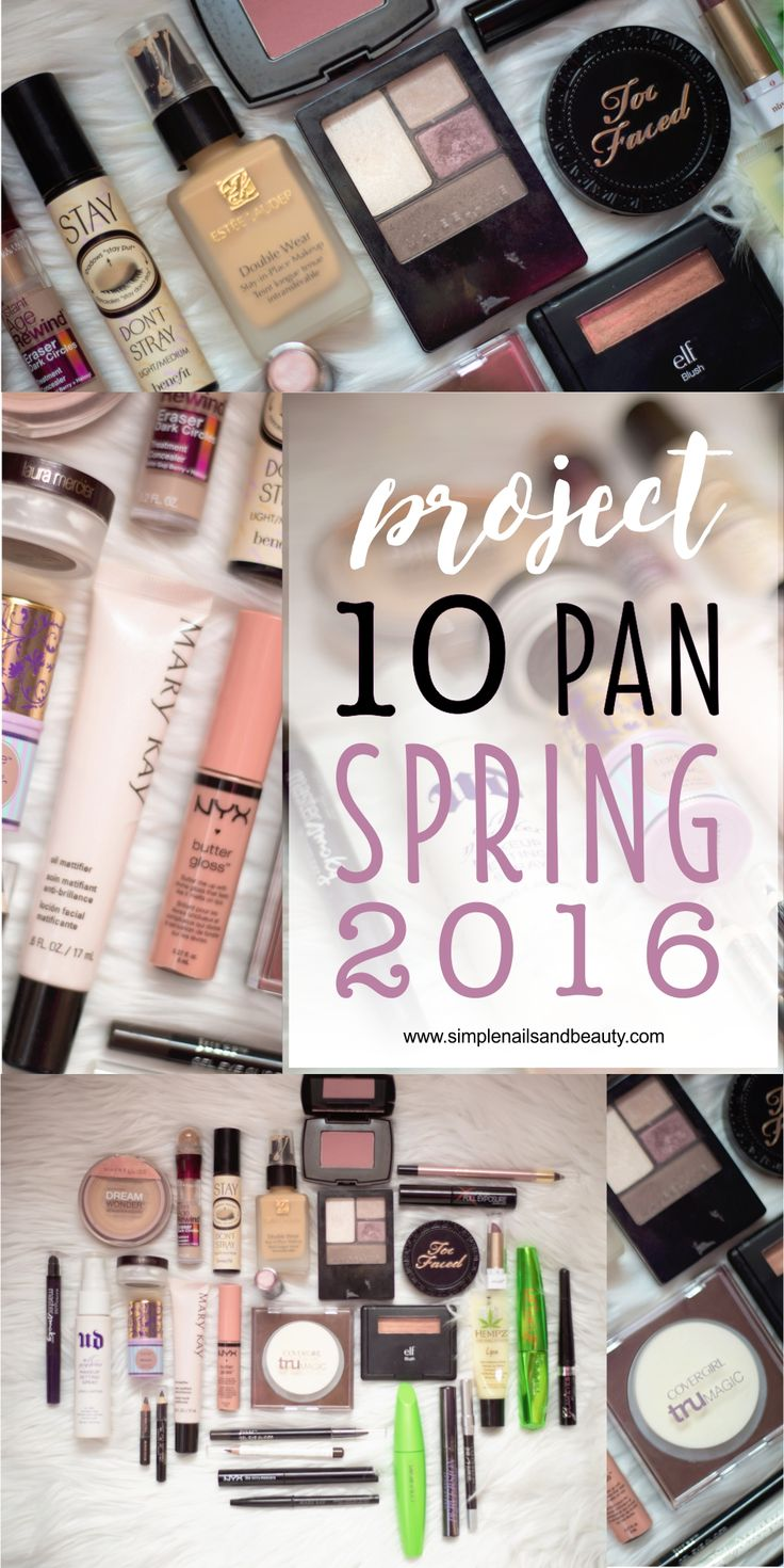 Makeup project 10 pan spring 2016 on simple nails and beauty simple nailsmakeup organizationdeclutterspring