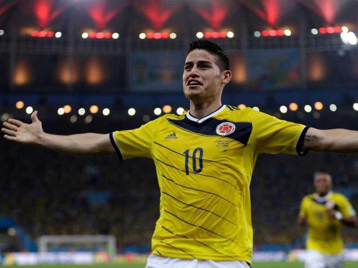 James Rodriguez,Colombia,6 goals