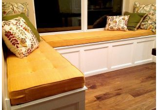 17 Best Ideas About Window Seat Cushions On Pinterest