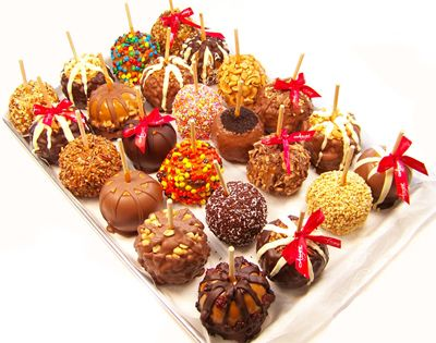 Gourmet Dipped Apple Recipe | ... these Gourmet Candy Apples are much fancier than any I've ever made