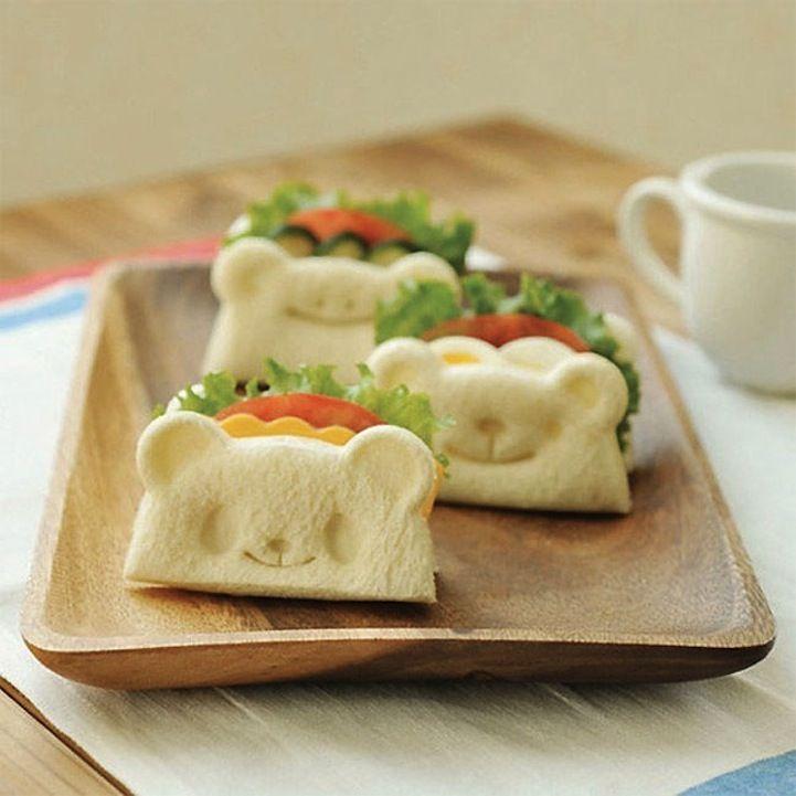 Una idea muy original para el desayuno de los niños #Tokyu_Hands #pan #bread #breakfast #desayuno #oso #bear