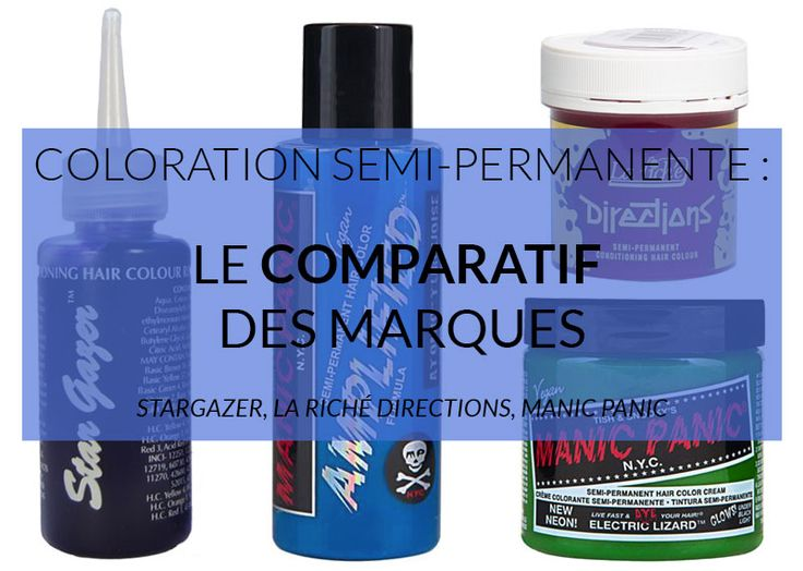 comparatif stargazer la rich directions et manic panic httpwwwcolor - Stargazer Coloration