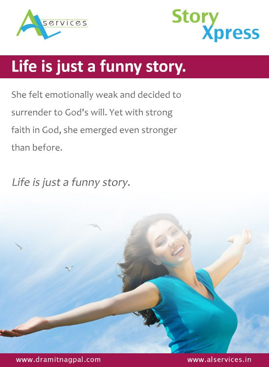 Life is just a funny story #storytelling