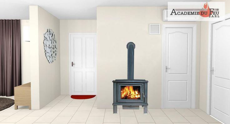 les 25 meilleures id es de la cat gorie poele a bois fonte. Black Bedroom Furniture Sets. Home Design Ideas