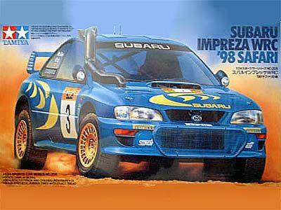 Boxart Subaru Impreza WRC 24205 Tamiya