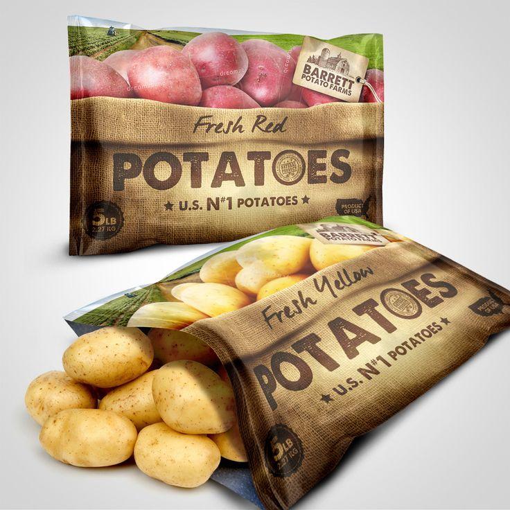 Barret Potato Farms Bags | 99designs