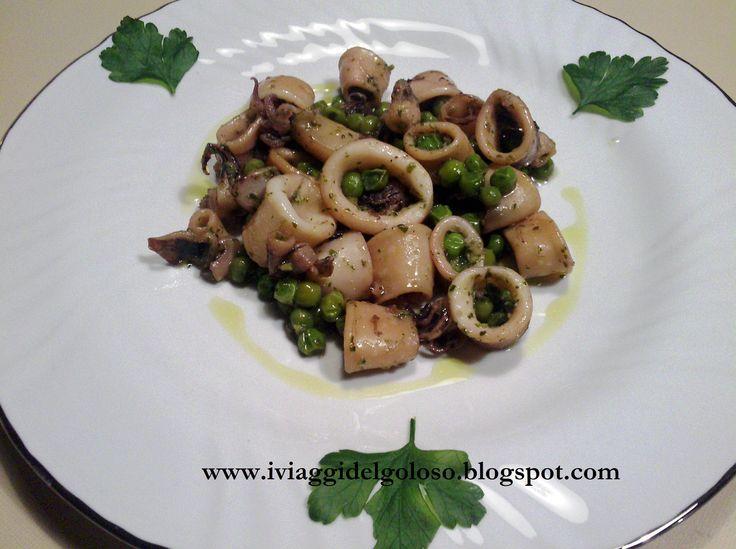 La ricetta odierna è un piatto leggero e facile da cucinare. I calamari al verde sono vera bontà ... almeno per noi ….