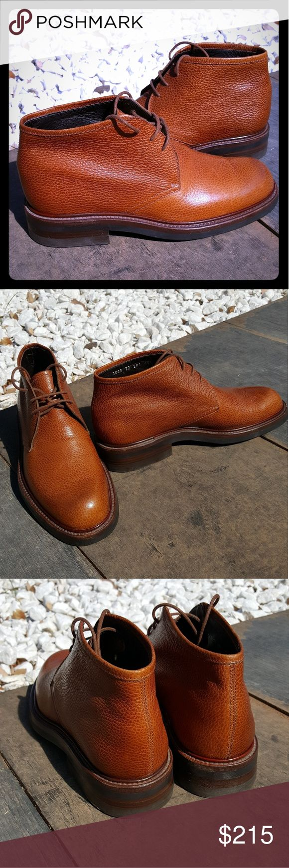 Barneys New York Brown Chukka Boots 8.5 (41.5) These brown chukka boots made by Barneys New York are in pristine shape. These are high quality leather boots and only worn once ever. The leather has been well taken care of and are simply amazing Barneys New York Shoes Chukka Boots