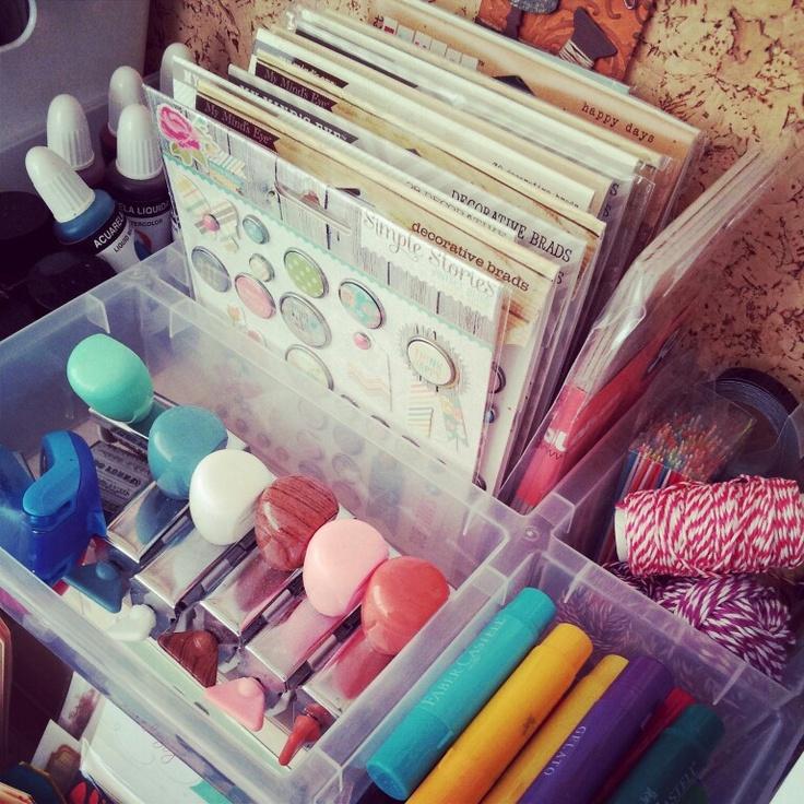 Scraproom-organizing supplies