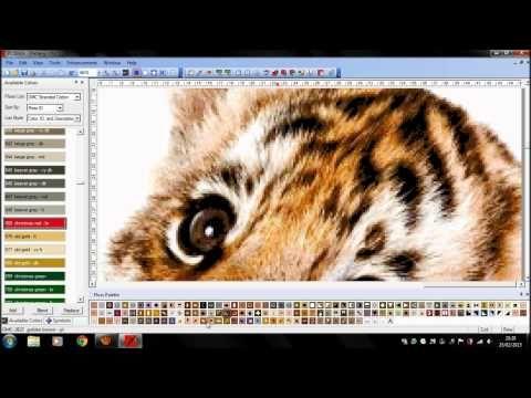 PcStitch Commission... Tigre..  #MiopiaVoluntaria #Arte #Rap #Love