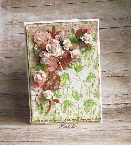 Kreatywna Kraina: Madmoiselle Antoinette Card - DT Craft Style
