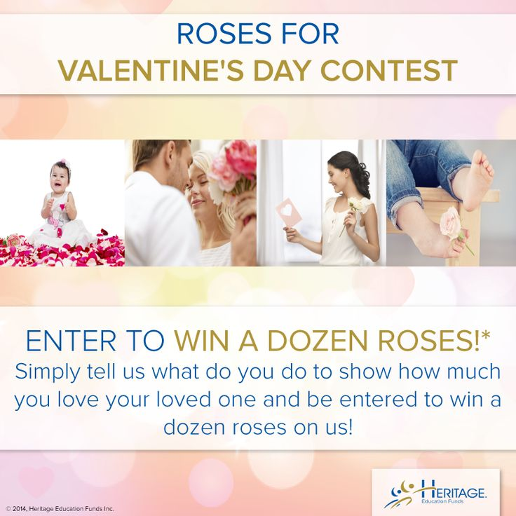 #CONTEST ALERT! Here is your chance to win a dozen #roses on us!  Visit http://woobox.com/dpktfp to enter.  *No Purchase necessary. Contest closes on February 13, 2014. Open to age of majority residents of Canada. Skill-testing question required. Odds of winning depend on the number of eligible entries received. To for full contest rules, visit HeritageRESP.com/valentine-sm-contest-rules.