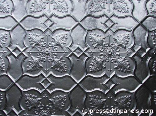 Pressed tin splash back cld totally afford this!