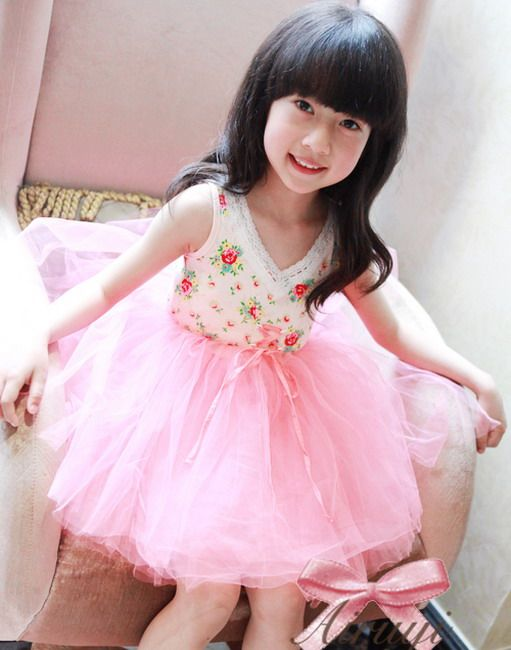Princess Floral Tutu Dress. Little Sweet Chic Boutique via Storenvy.