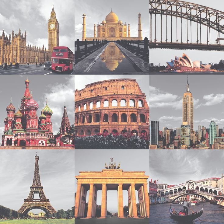 Rasch Around the World Multi-Coloured Wallpaper - 235708 - http://www.godecorating.co.uk/rasch-around-world-multi-coloured-wallpaper-235708/