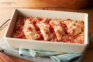 One-Dish Italian Fish recipe...so easy to make and tastes really good