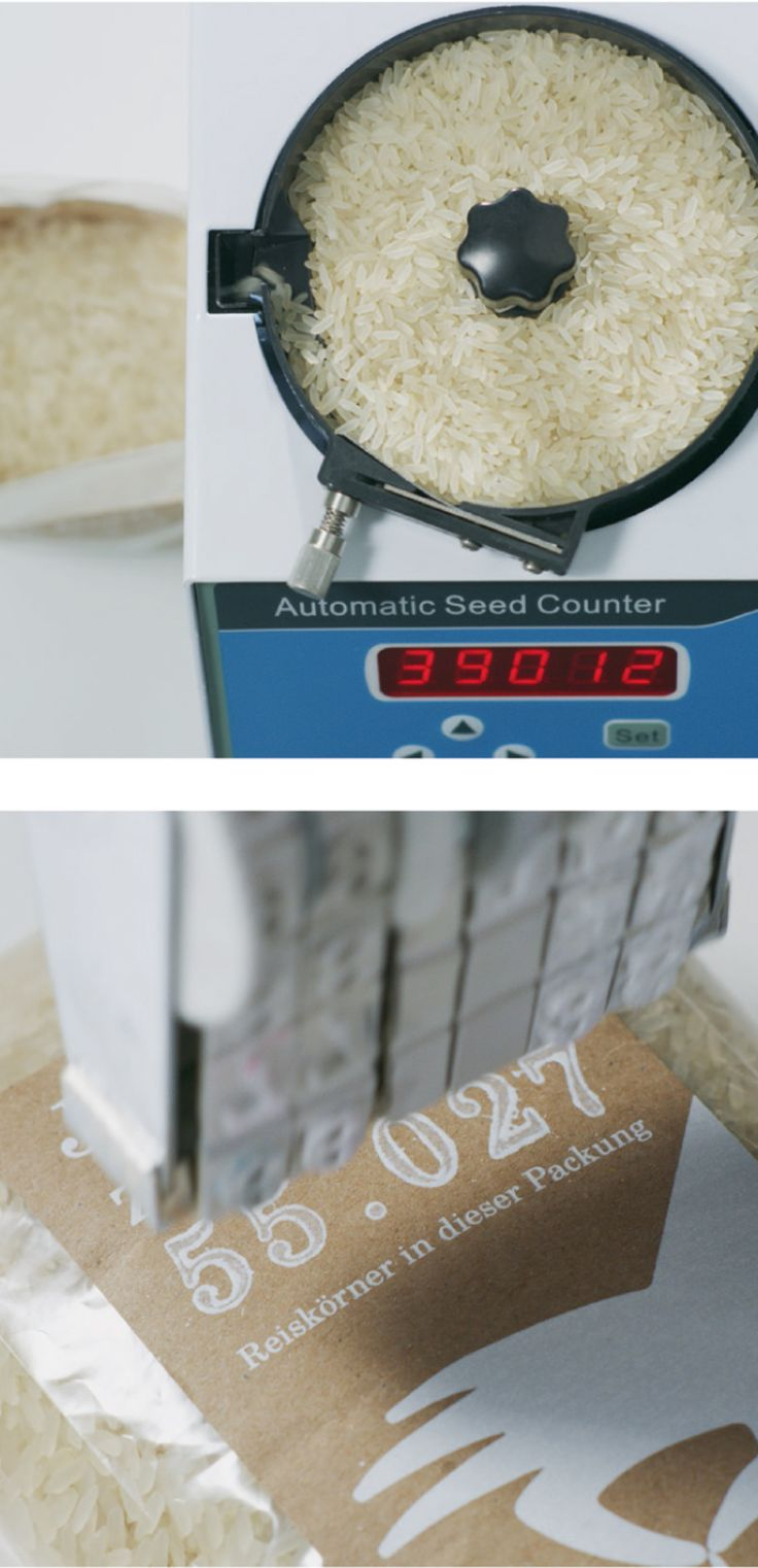 Read more: https://www.luerzersarchive.com/en/magazine/print-detail/penny-markt-65178.html Penny Markt During filling, the contents of each pack is calculated right down to the very last grain of rice and the exact number subsequently displayed on the label. Tags: Serviceplan, Munich,Linda Moers,Elena Sorokova,Penny Markt,Daniele del Nero,Christoph Everke,Alexander Schill,Moritz Dornig,Katrin Oeding,Studio Oeding, Hamburg