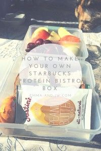 How to Make Your Own Starbucks Protein Bistro Box