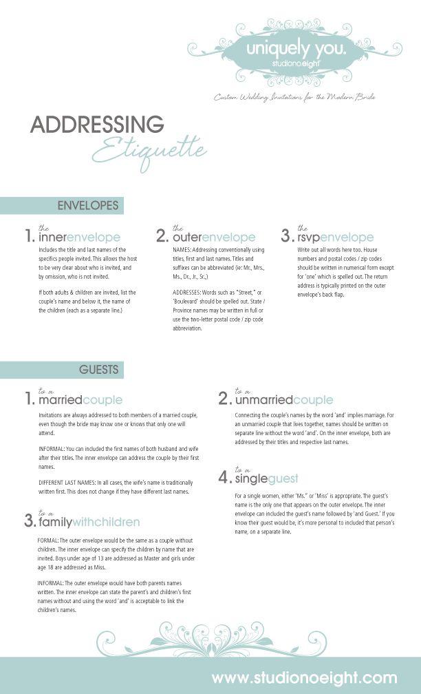 Best 25+ Wedding Address Etiquette Ideas On Pinterest   Wedding Invitation  Etiquette, Addressing Wedding Invitations And Wedding Program Etiquette