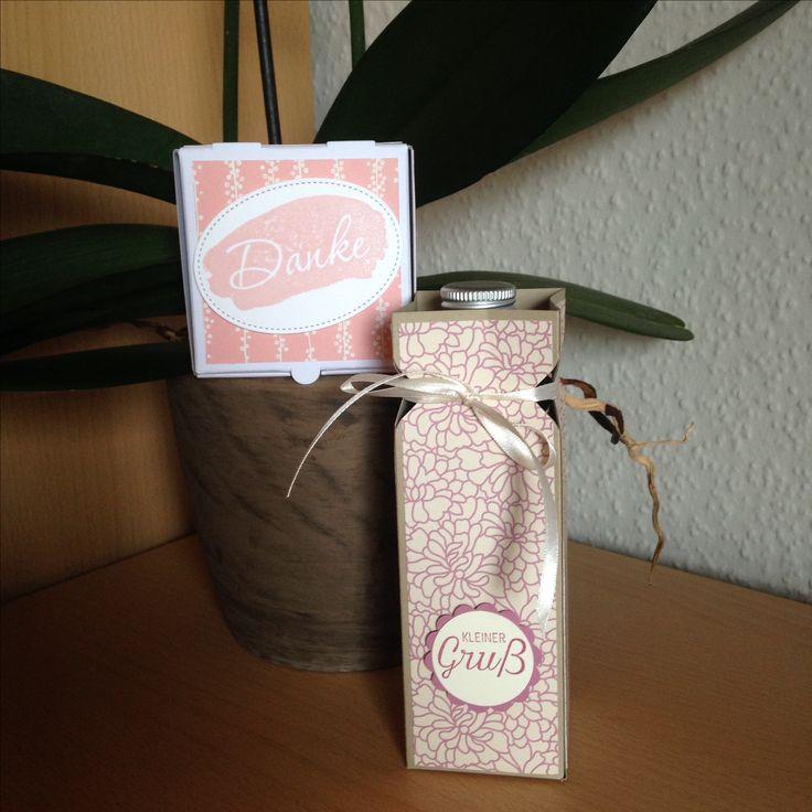 Kleine Geschenke für Friseur und Kosmetikerin zum Dank der tollen Arbeit zu Hochzeit meiner Freundin