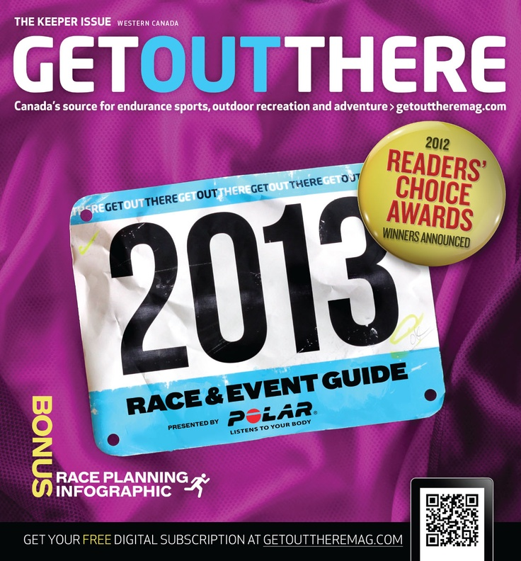 Our February 2013 Race & Event Guide issue is here! Check out the Western Canada Edition for races and events in Alberta, BC, Saskatchewan and Manitoba. http://dashboard.pilomobile.com/i/104394