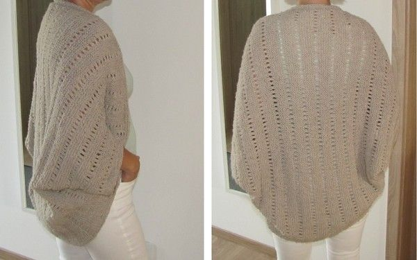 This comfortable casual summer cardigan is a really practical companion and eye-catcher. Especially in the summer for a summer evening or when the nights are sometimes a little longer on vacation. But even on the day when a fresh breeze this simple sweate