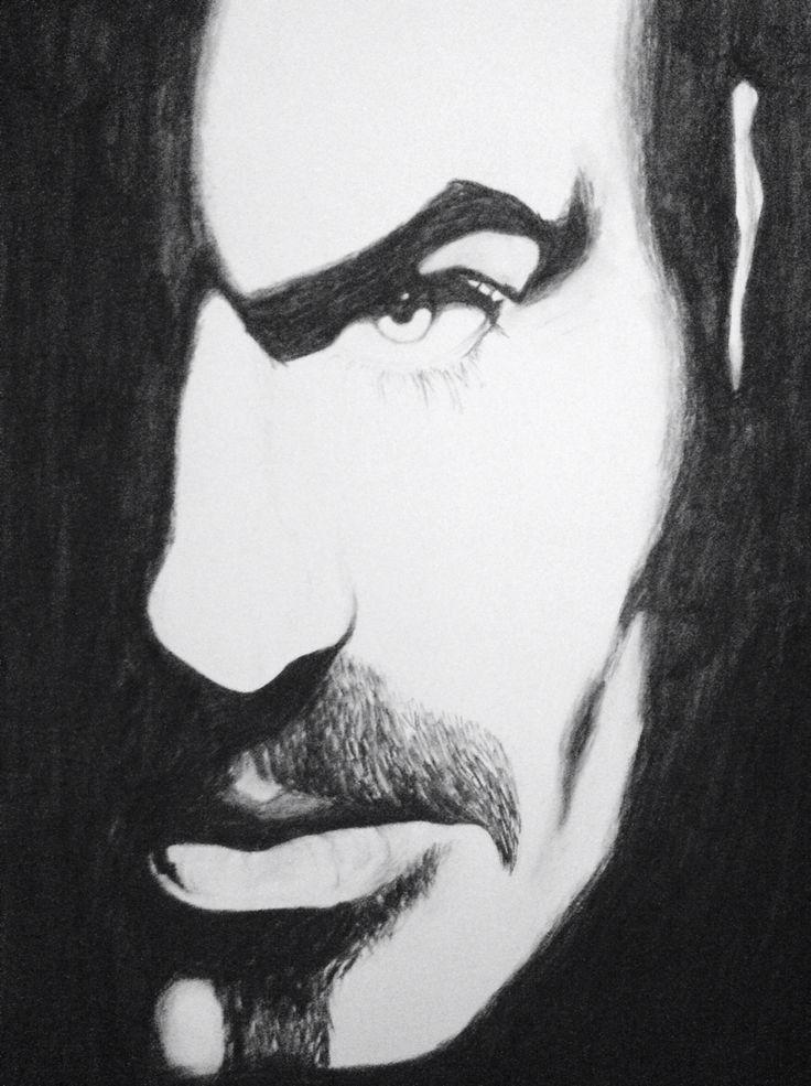 George Michael Charcoal