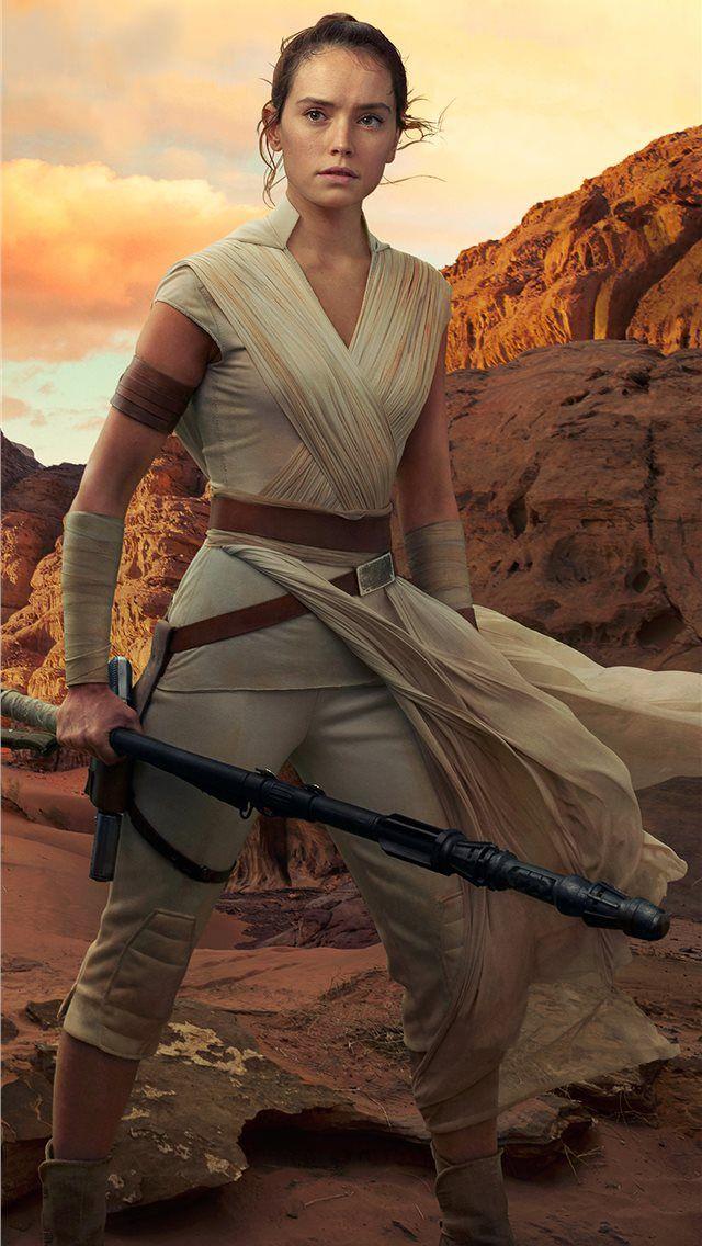 Rey Star Wars The Rise Of Skywalker 2019 4k Rey Star Wars Daisy Ridley Star Wars Star Wars Sequel Trilogy