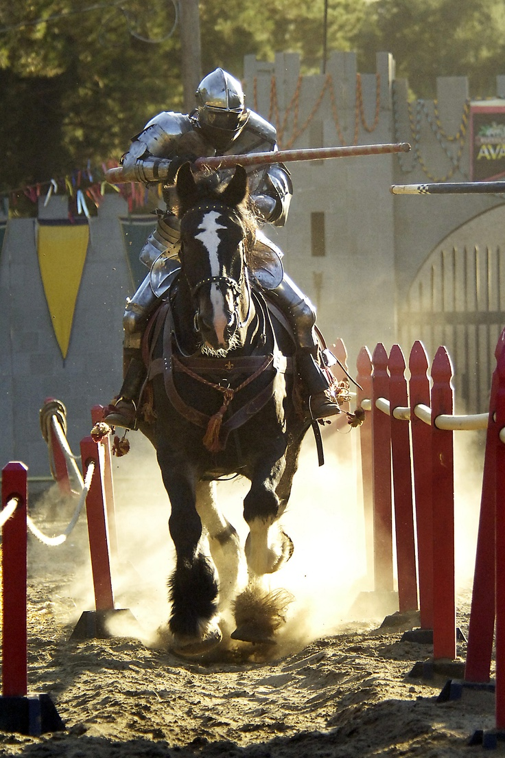 "Jousting. Heavy metal. I don't think your ""extreme"" sport"