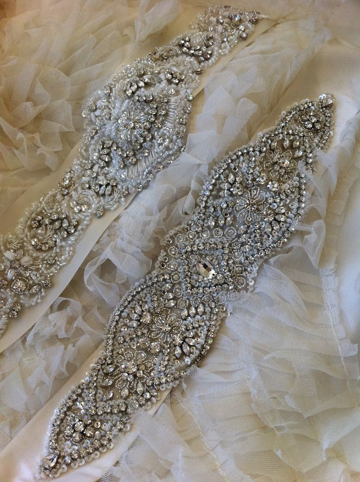 Crystal Couture Wedding Gown Belts ~ Please contact allysonjames831@gmail.com to see our collection of crystal belts and DIY Bridal!