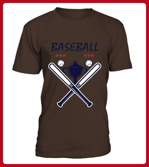 Baseball Trophy Logo Emblem Tshirt - Baseball shirts (*Partner-Link)