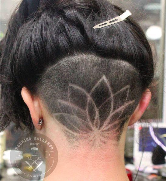 Instagram Is Going Crazy For Hidden Hair Tattoos