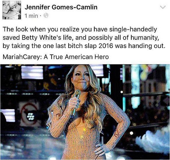Click link for more Mariah Carey New Years Eve  memes http://www.quotesmeme.com/meme/mariah-carey-new-years-eve-2017-memes/