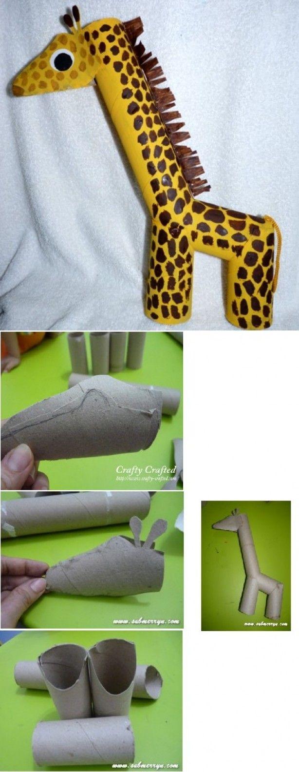 Giraffe knutselen