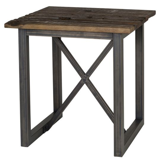 The Timber End Table is so unique :)