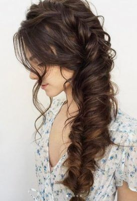 Long hairstyles for prom – prom hairstyles for long hair half up half down, wavy prom hairstyles for long hair CLICK VISIT link to see more #promhairs