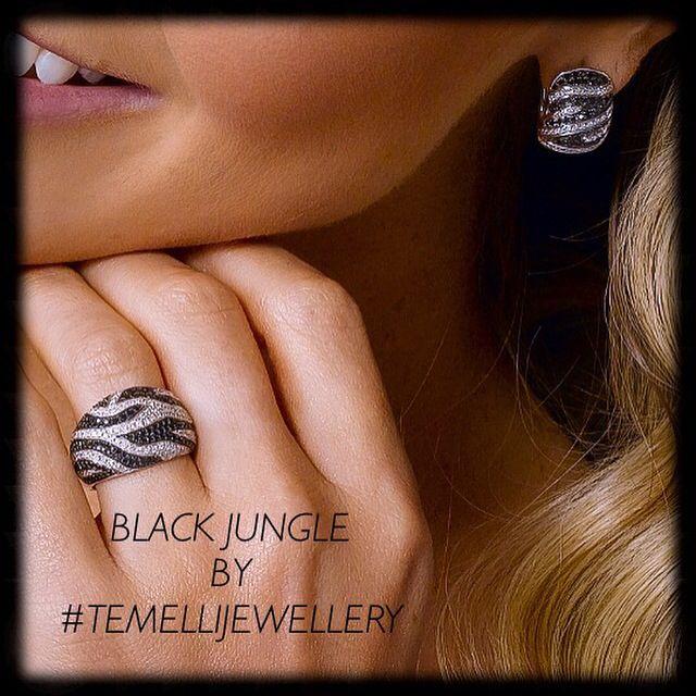 Black Diamonds ❤️ #blackdiamond Black Jungle Collection
