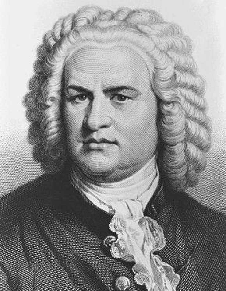Johann Sebastian Bach | Composer, organist, harpsichordist, violist, and violinist of the Baroque Period. He enriched many established German styles through his skill in counterpoint, harmonic and motivic organisation, and the adaptation of rhythms, forms, and textures from abroad, particularly from Italy and France | Germany | 1685 - 1750