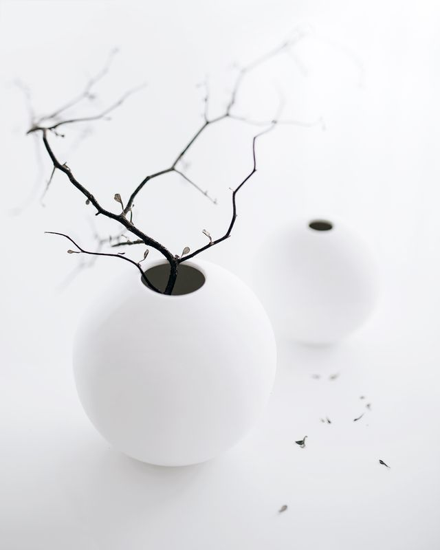 Cooee Design ball vases. The must-have decor piece for the minimalist home. Photography and styling - Tarina @oh.eight.oh.nine