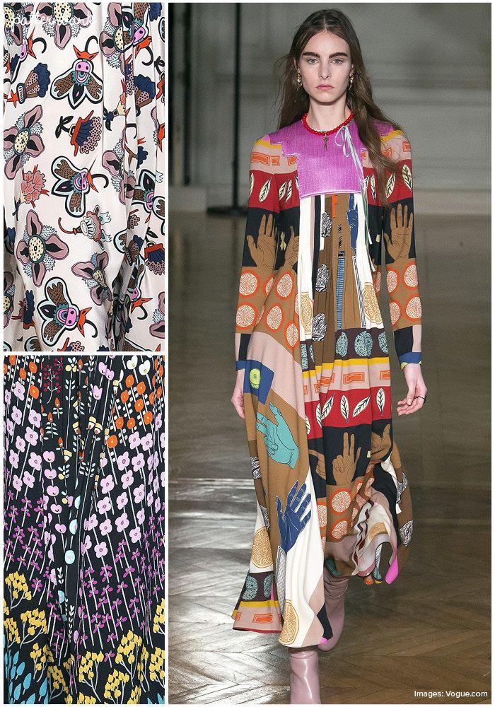 Valentino – Fall 2017 – RTW – Paris Fashion Week – Print & Pattern Highlight