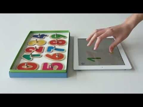 10 vingers: Handige app voor kinderen om met hun eigen vingers op de ipad te oefenen met tellen en cijferherkenning.