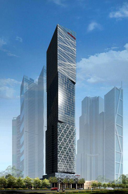 Movenpick Hotel and Residences, Makati City, 312 m; @ Rchitect Inc