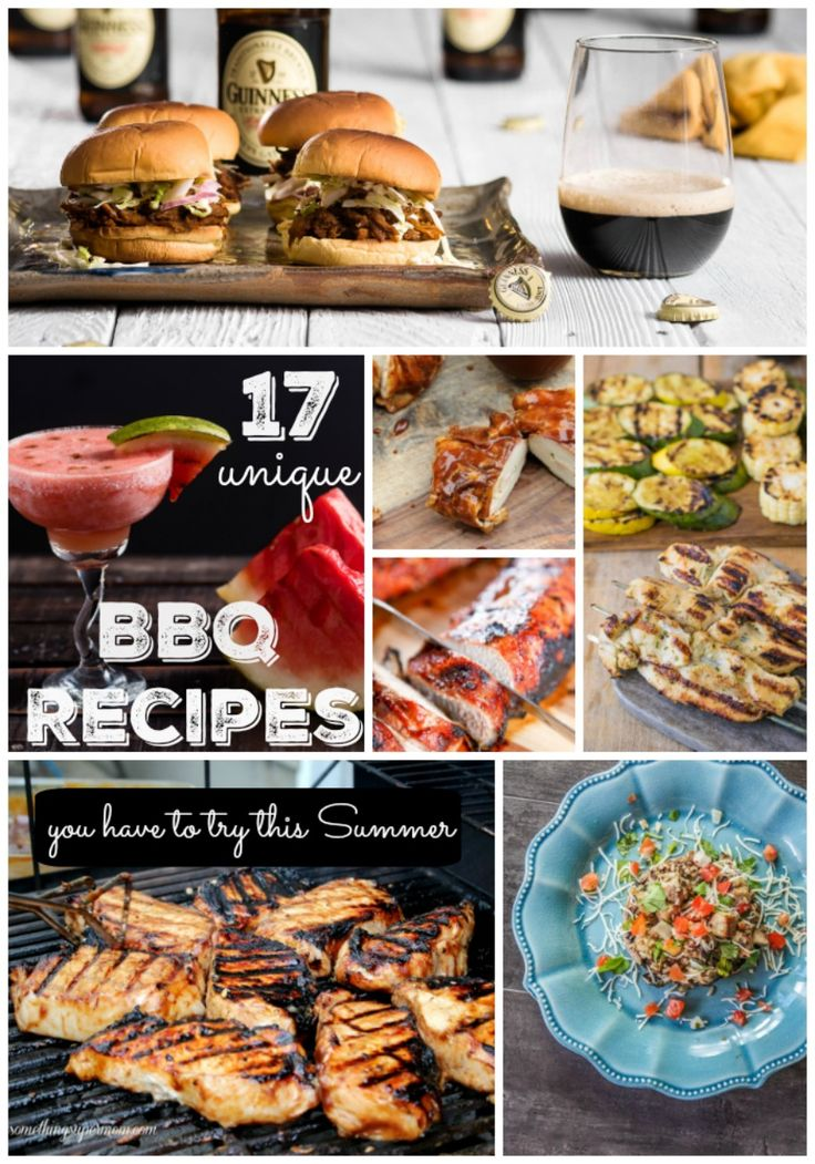 These barbecue recipes are so unique and look delicious! You have to try them before the Summer ends!